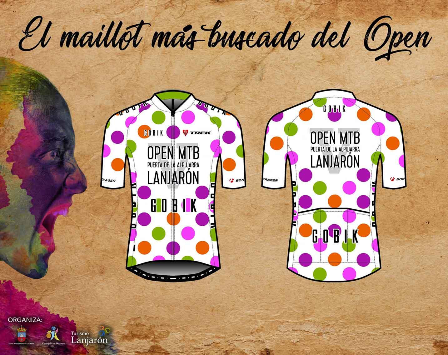 Maillot del Open