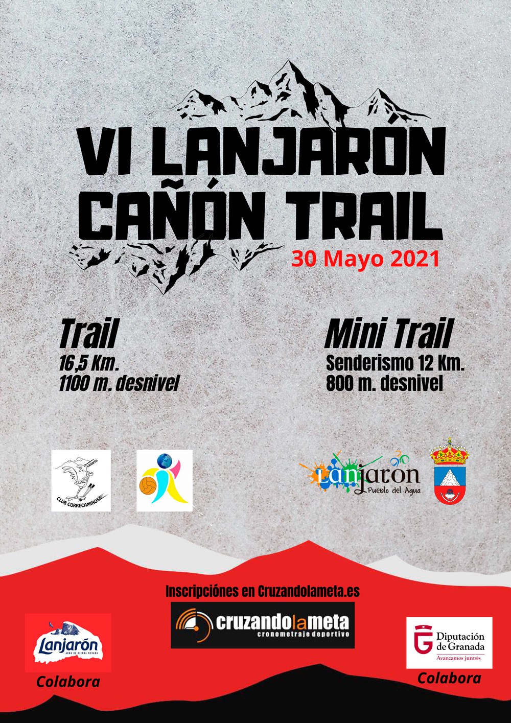 Cartel VII Open MTB Puerta de la Alpujarra